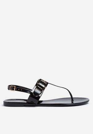 Zoom Serena Sandals & Flip Flops Black