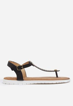 Zoom Patty Sandals & Flip Flops Black