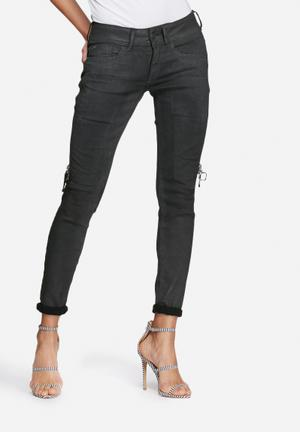 G-Star RAW Lynn Skinny Jeans Black