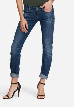 G-Star RAW 3301 Deconst Low Skinny Jeans Blue