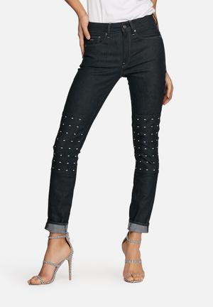 G-Star RAW 3301 High Skinny Jeans Blue