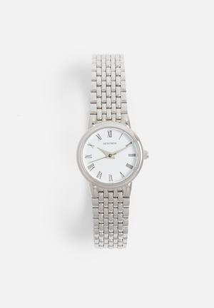 Sekonda Small Round Link Watch  Silver
