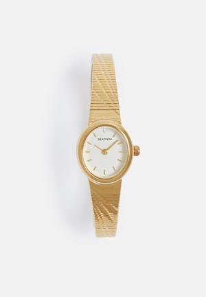 Sekonda Oval Watch Gold