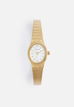 Sekonda Oval Rose Watch Gold