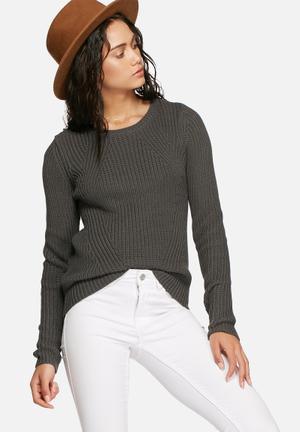Vero Moda Lex Knit Knitwear Grey