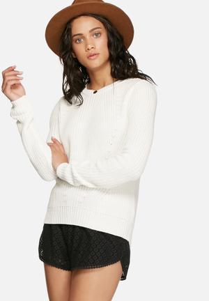 Vero Moda Lex Knit Knitwear Cream