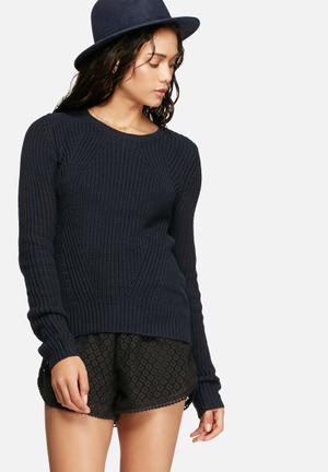 Vero Moda Lex Knit Knitwear Navy