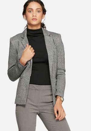 Vero Moda New Victoria Blazer Jackets Grey
