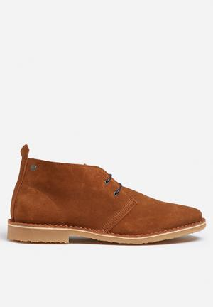 Jack & Jones Footwear & Accessories Gobi Suede Desert Boot Cognac