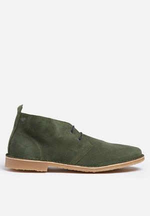 Jack & Jones Footwear & Accessories Gobi Suede Desert Boot Khaki