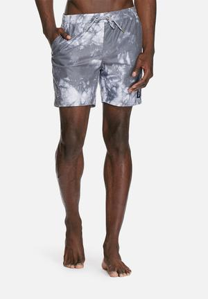 Globe Evil Paradise Pool Shorts Swimwear Grey