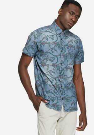 Jack & Jones Vintage Davis Shirt Blue