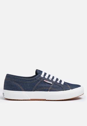 SUPERGA 2750 JNSU Classic Denim Sneakers Blue Notte