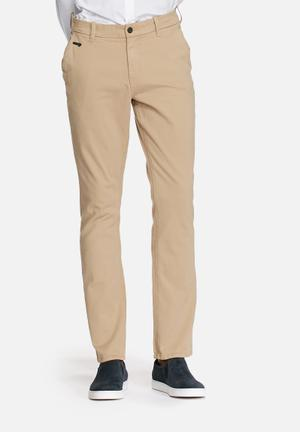 GUESS Tapered Chinos Stone