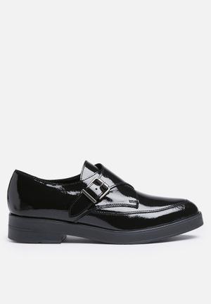 Pieces Darson Leather Shoe Pumps & Flats Black