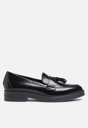 Pieces Dea Leather Shoe Pumps & Flats Black