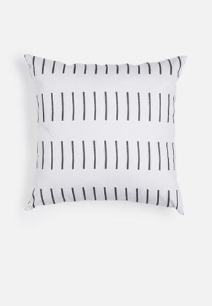 Sixth Floor Dash Printed Cushion Cotton Twill