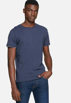 Only & Sons Nord Tee T-Shirts & Vests Navy