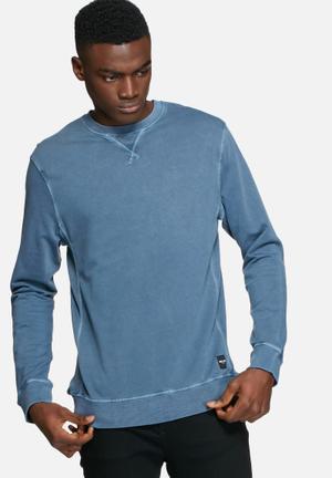 Only & Sons Jordon Sweat Hoodies & Sweatshirts Blue