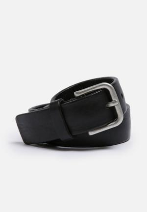 Selected Homme Basic Belt Black