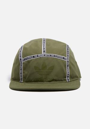 Adidas Originals Cap 5 Panel Headwear Olive