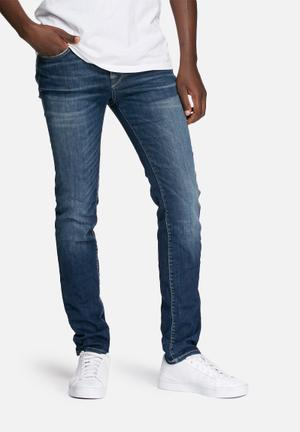 Selected Homme Skinny Fabios Jeans Blue