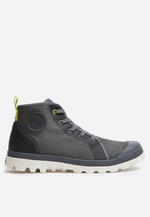 Palladium Pampa Hi Lite Boots Grey
