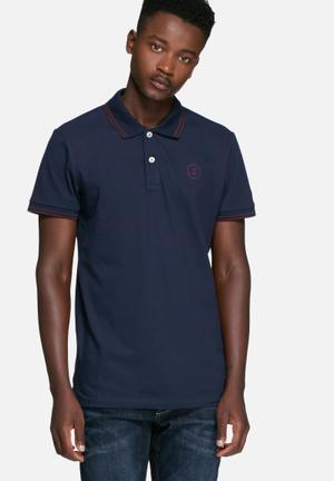 Jack & Jones CORE Thom Polo T-Shirts & Vests Navy