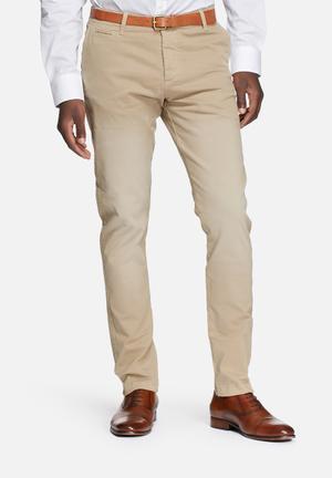 Jack & Jones Jeans Intelligence Cody Lorenzo Regular Chinos Stone