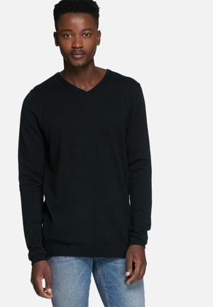 Jack & Jones Premium Lucas Knit Knitwear Black