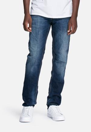 Jack & Jones Jeans Intelligence Tim Original Fit Jeans Blue
