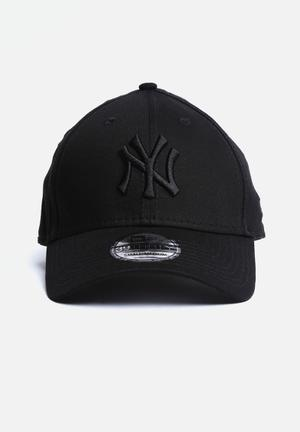 New Era 39THIRTY League NY Yankees Headwear All Black