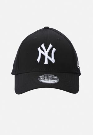 New Era 39THIRTY NY Yankees Headwear Black