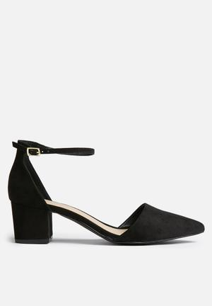 Therapy Cross Heels Black
