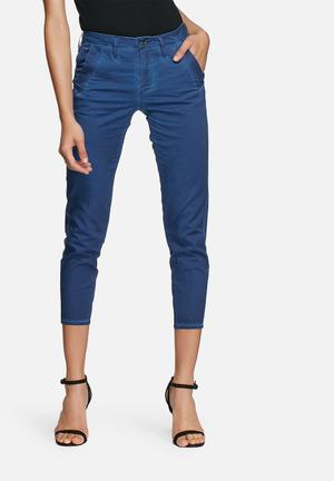 G-Star RAW Bronson Mid Skinny Chino Trousers Blue