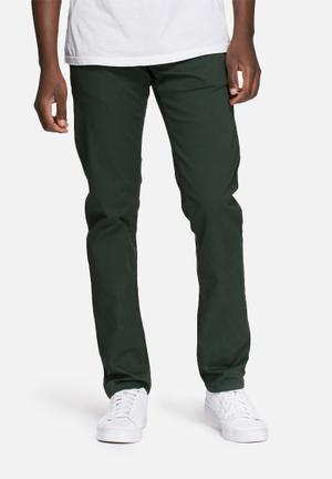 Selected Homme Paris Regular Pants Green