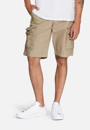 Jack & Jones Jeans Intelligence Preston Cargo Shorts Akm 216 Noos Stone