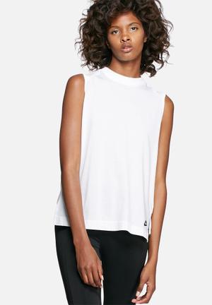 Nike Bonded Tank T-Shirts White