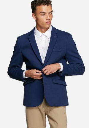 Selected Homme Owen Blazer Jackets & Coats Blue