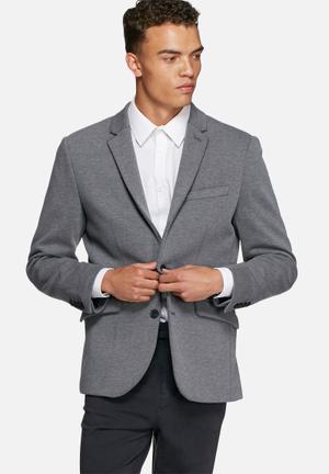 Selected Homme Owen Blazer Jackets & Coats Grey