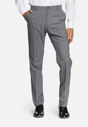 Selected Homme Logan Slim Trouser Pants Grey