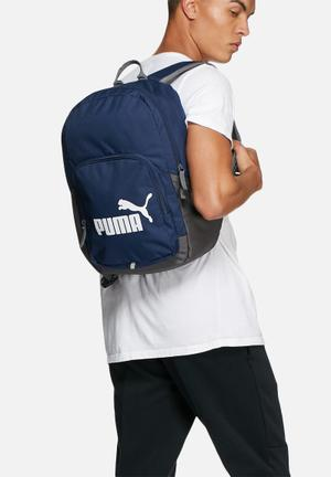PUMA Phase Backpack Bags & Wallets Navy