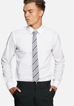 Jack & Jones Premium Milano Tie Ties & Bowties Grey Melange