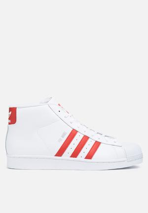 Adidas Originals Promodel Foundation Sneakers White / Red