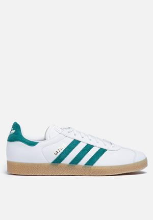 Adidas Originals Gazelle Sneakers Vintage White / Collegiate Green / Gum