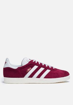 Adidas Originals Gazelle Sneakers  Collegiate Burgundy / Vintage Wht