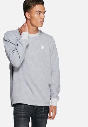 G-Star RAW Core Sweater Hoodies & Sweatshirts Grey