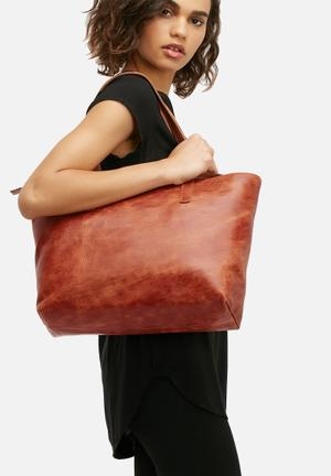 Rome leather tote