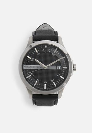 Armani Exchange Dress Watch Black