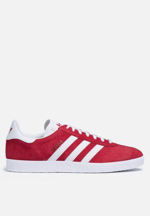Adidas Originals Gazelle Sneakers Scarlet / White / Metallic Gold